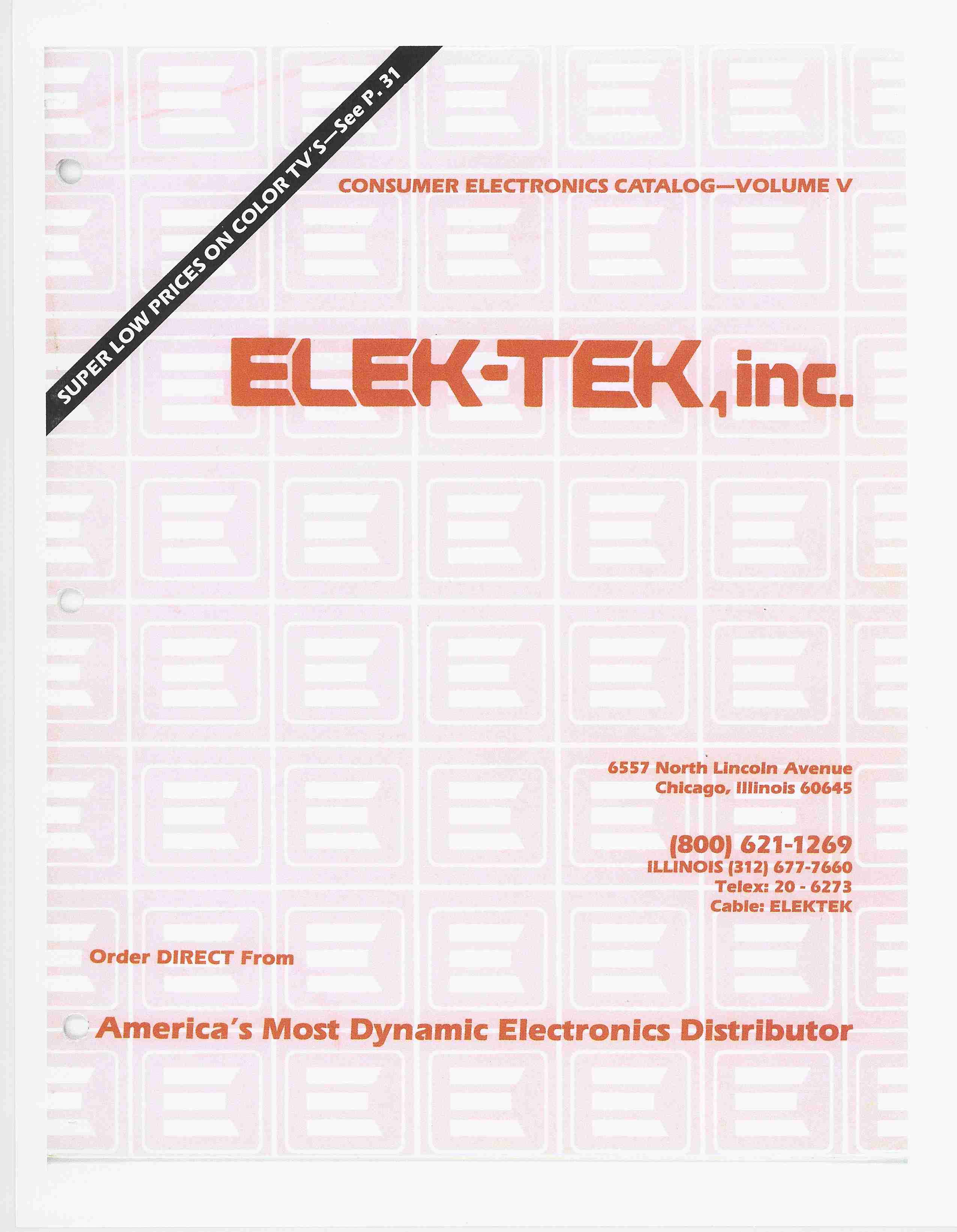 Other Vintage Electronic Manuals